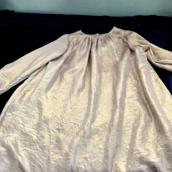 Gap golden dress size 5 girls